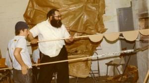 Baking Matzos Rabbi Groner Melbourne Australia